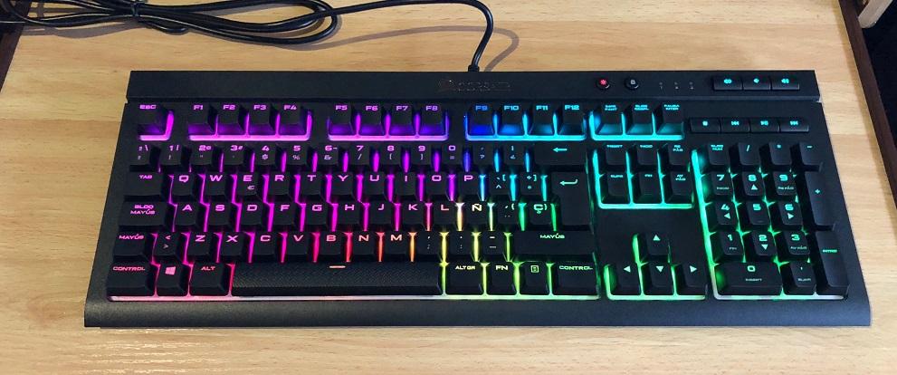 Análisis del teclado mecánico CORSAIR K68 RGB 33