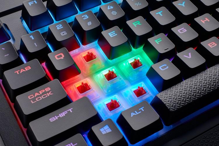 Análisis del teclado mecánico CORSAIR K68 RGB 37