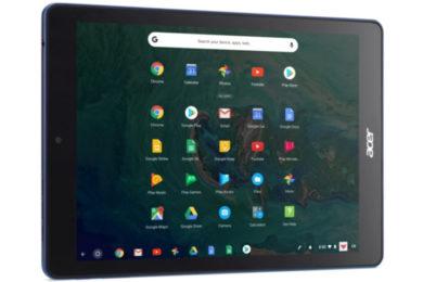 Acer Chromebook Tab 10 abre la era del tablet bajo Chrome OS