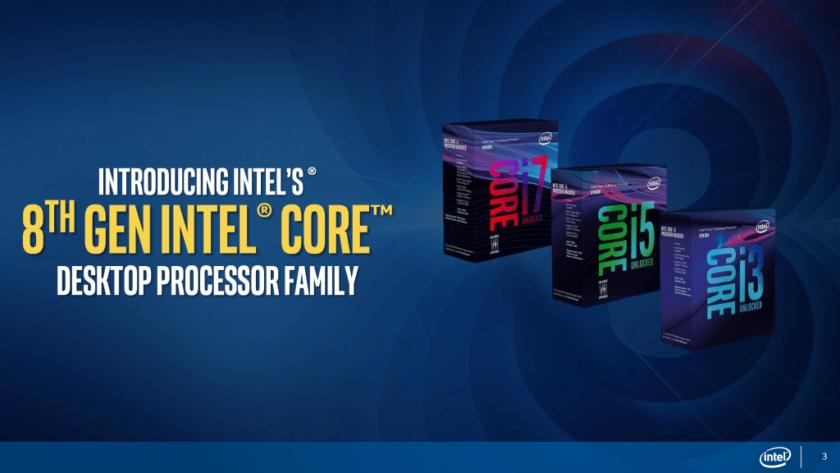 Listados nuevos procesadores Intel Coffee Lake-S