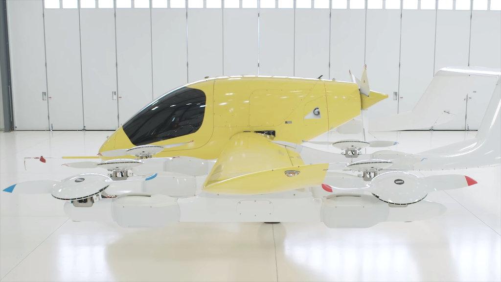 Cora es un taxi volador autopilotado creado por una empresa fundada por Larry Page