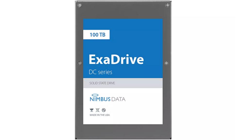 ExaDrive DC100: un SSD con 100 terabytes de almacenamiento