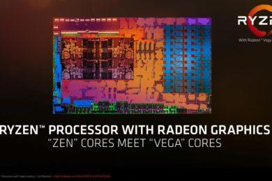Ryzen 5 2400G con GPU Vega 11 frente a Core i3-8100 y GTX 750 Ti