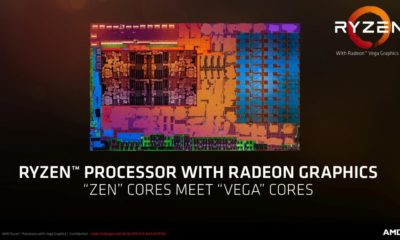 Ryzen 5 2400G con GPU Vega 11 frente a Core i3-8100 y GTX 750 Ti 32