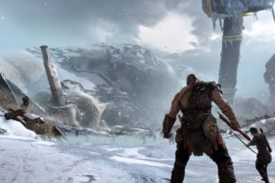 Así es el sistema de combate de God of War para PS4