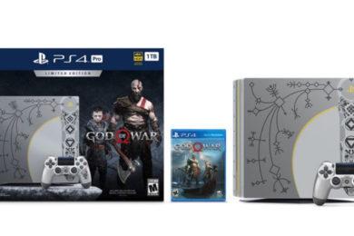 God of War para PS4 Pro, edición especial de altos vuelos