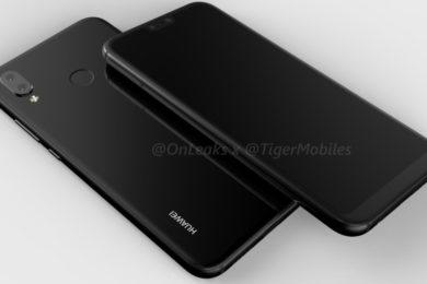 Filtrada imagen real del Huawei P20 Lite; dos cámaras y pantalla 18:9