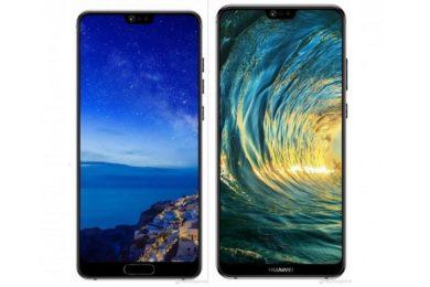 Imágenes oficiales de los Huawei P20, Huawei P20 Lite y Huawei P20 Pro