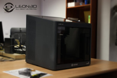Lion 2, probamos la nueva impresora de LEON3D