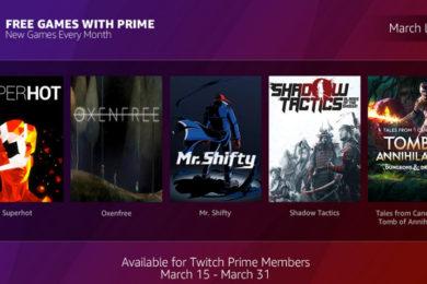"""Twitch anuncia """"juegos gratis"""" con Prime"""