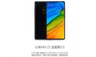 Xiaomi Mi Mix 2s filtrado en vídeo, especificaciones completas 30