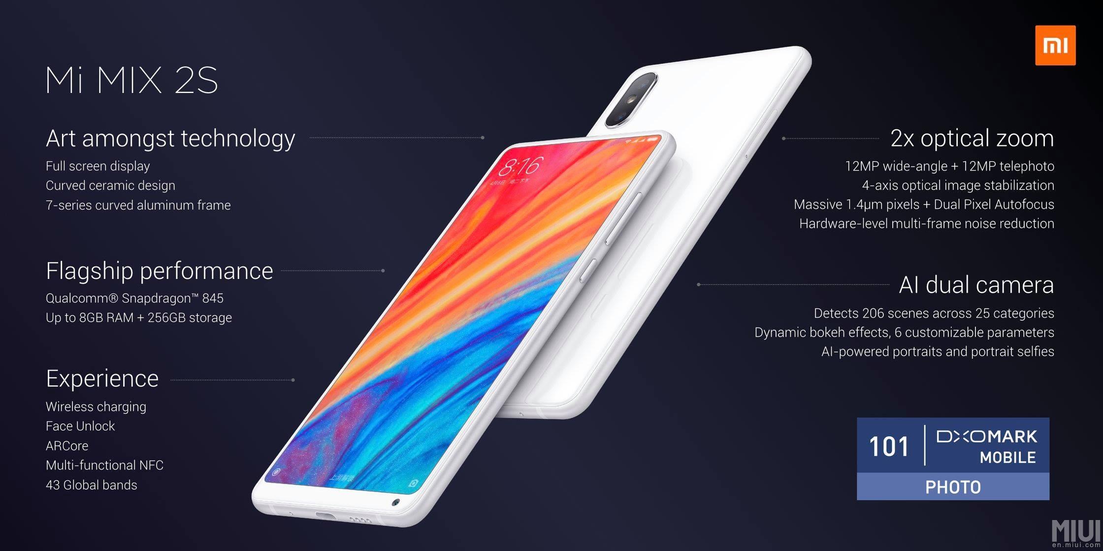 Xiaomi presenta el Mi MIX 2S ¡Vaya 'pepino'! 28