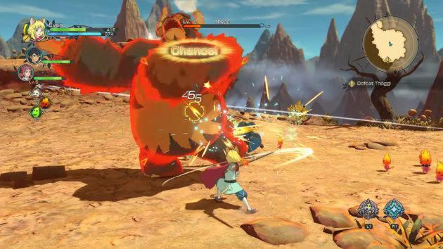 Ni No Kuni II - Batalla