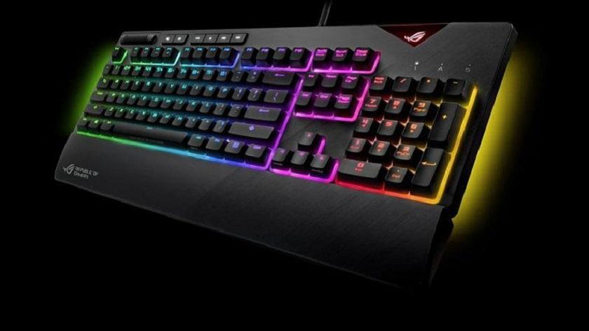 ASUS presenta el teclado mecánico ROG Strix Flare 29