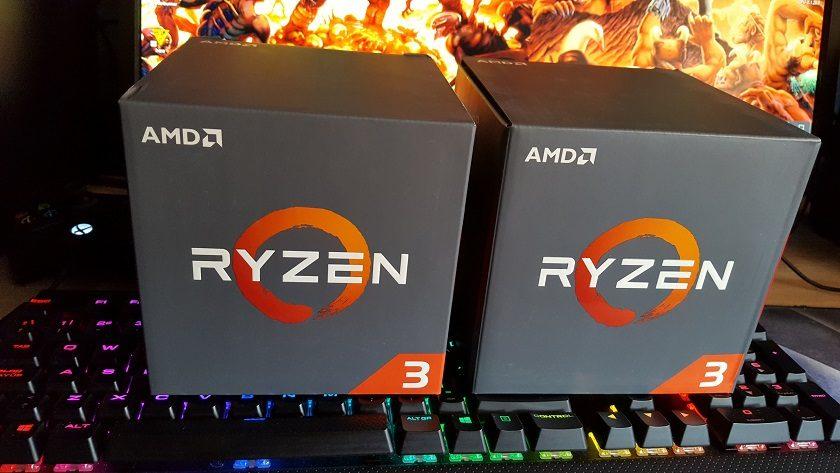 Ryzen 3 1300X a 4 GHz frente a Core i5-2500K a 4,4 GHz en juegos 30