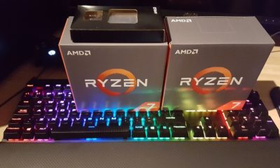 Ryzen 7 1700 a 4 GHz frente a Core i7 8700 en juegos a 4K 29