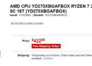 Listados los Ryzen 7 2700X y Ryzen 5 2600X; precios y especificaciones 31