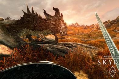 Skyrim VR llega a PC a través de SteamVR
