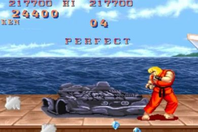 Street Fighter II en el mundo real gracias a ARKit de Apple