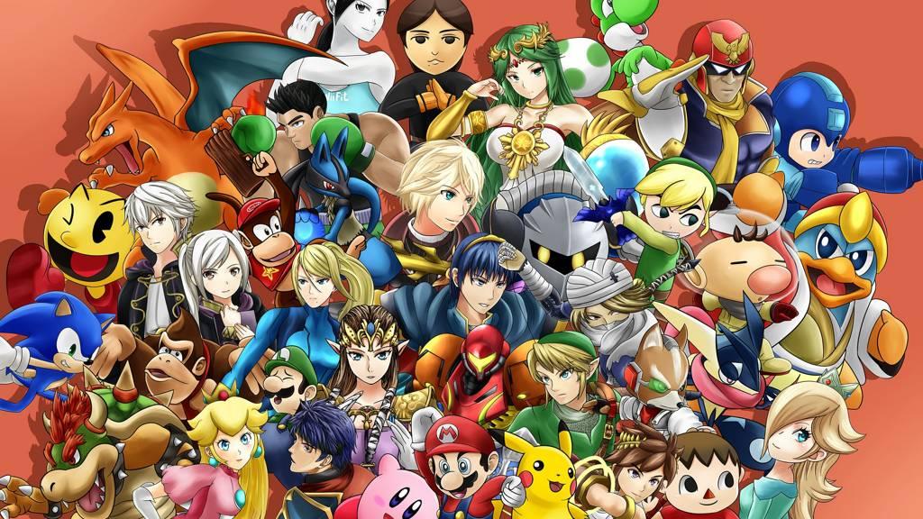 Super Smash Bros llegará en 2018 a Nintendo Switch