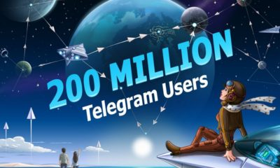 Telegram ha alcanzado los 200 millones de usuarios activos