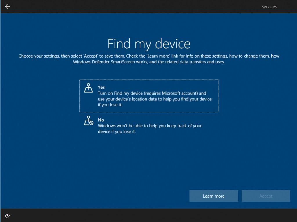 Microsoft muestra nueva pantalla de privacidad para Windows 10 35