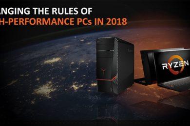 AMD celebra el primer aniversario de Ryzen; buenas previsiones