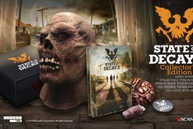 La edición de coleccionista de State of Decay 2 no incluye el juego