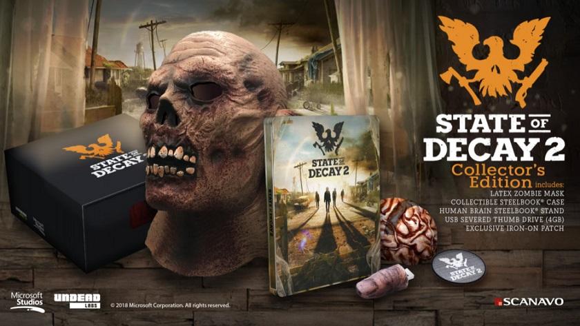 La edición de coleccionista de State of Decay 2 no incluye el juego 30