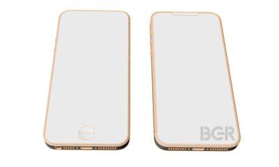 Diseño esquemático del iPhone SE 2; acabado todo pantalla 19:9 86
