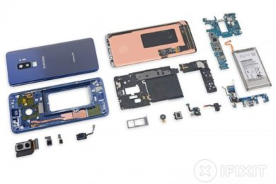 iFixit desmonta el Galaxy S9; es difícil de reparar