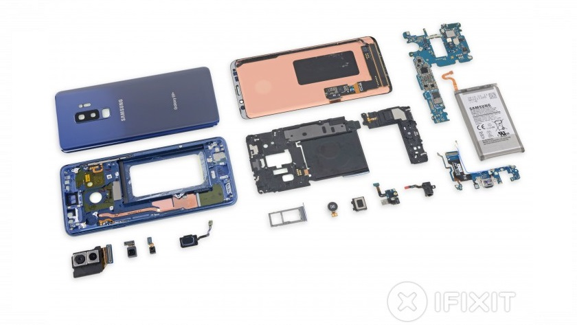 iFixit desmonta el Galaxy S9; es difícil de reparar 27