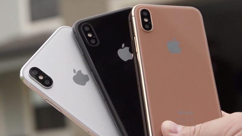 "Apple prepara un iPhone X en color ""blush gold"""