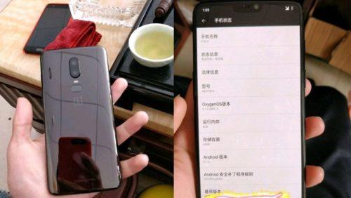 El precio del OnePlus 6 podría ser superior al del iPhone 8