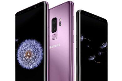 Prueba de resistencia del Galaxy S9 de Samsung