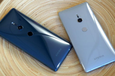 Sony repasa la evolución del diseño de sus smartphones Xperia