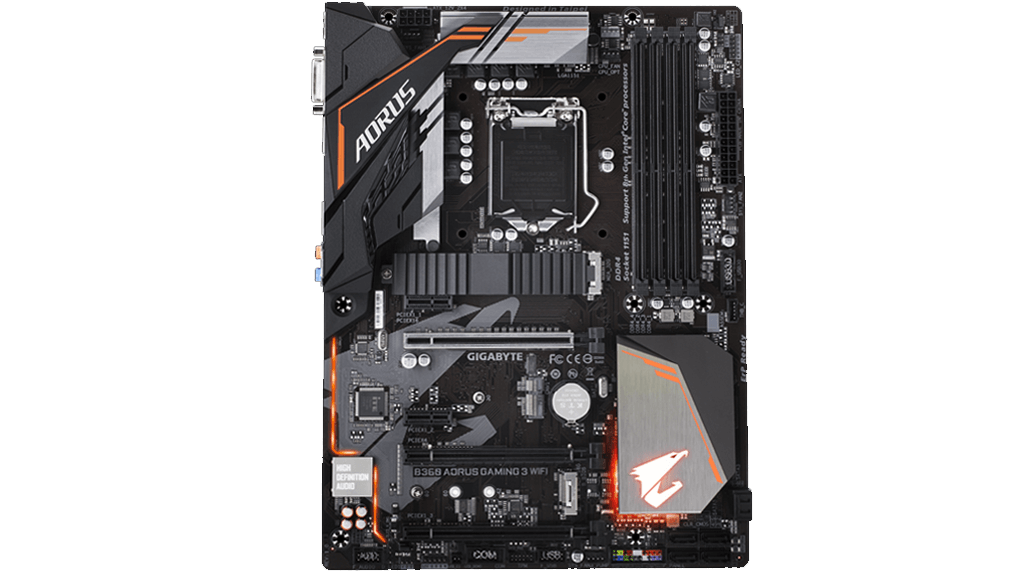 GIGABYTE lanza placas base H370 y B360 AORUS GAMING WIFI 30