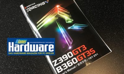 Confirmada la placa base BIOSTAR Z390 RACING GT3 37