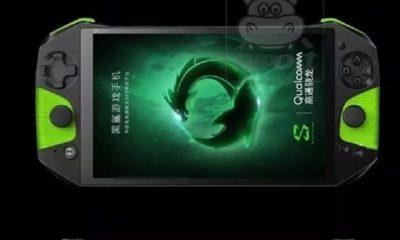 Primera imagen real del Blackshark de Xiaomi, un smartphone gaming 206