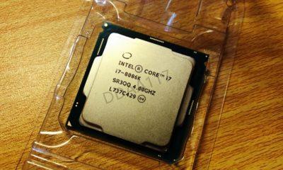 Asoma una CPU Intel Core i7-8086K: edición conmemorativa del 8086 64