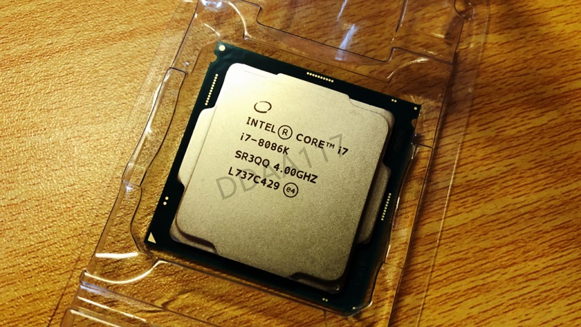 Asoma una CPU Intel Core i7-8086K: edición conmemorativa del 8086 32