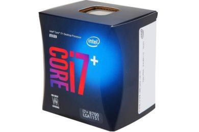 Intel empieza a vender los Core i7+ y Core i5+