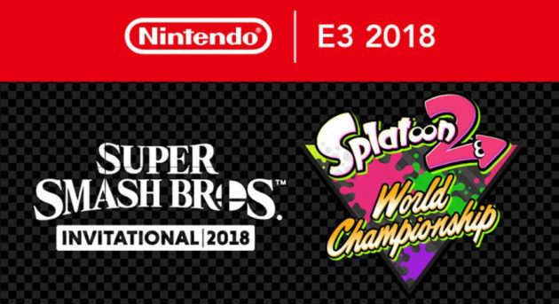 E3 Smash Bros Splatoon