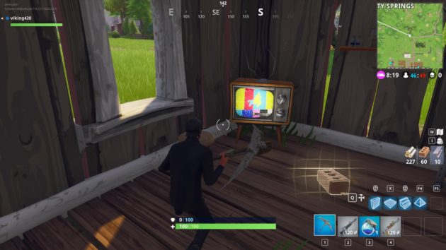Fortnite Emergency Broadcast