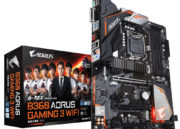 GIGABYTE lanza placas base H370 y B360 AORUS GAMING WIFI 36