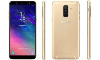 Filtrado el Galaxy A6+ en dos renders, especificaciones 45