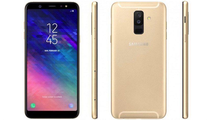 Filtrado el Galaxy A6+ en dos renders, especificaciones