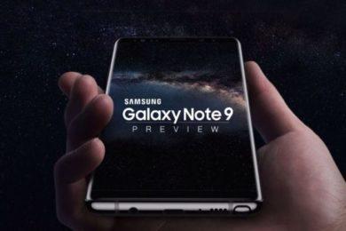 El Galaxy Note 9 tendrá mayor pantalla y mayor batería
