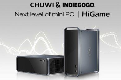 Chuwi HiGame: Un PC Gaming con Intel Core i5 8305G y Radeon RX Vega