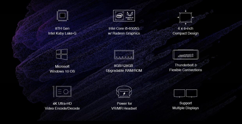 Chuwi HiGame: Un PC Gaming con Intel Core i5 8305G y Radeon RX Vega 33